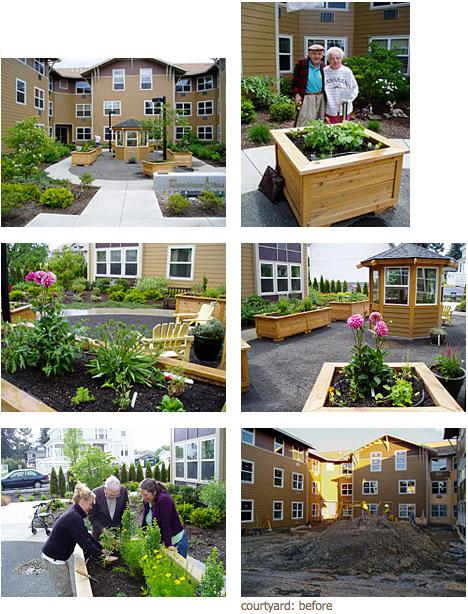 Un projet d'Annie pour la villa Sacred Heart, une résidence pour personnes âgées indépendantes à Portland (Oregon)
