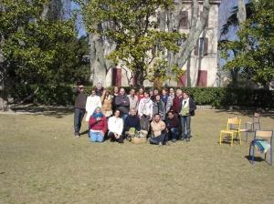Lors d'une formation menée avec le Réseau des Jardins Solidaires Méditerranéens