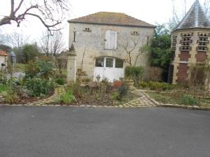 La salle découverte de l'IME et une vue sur les jardins