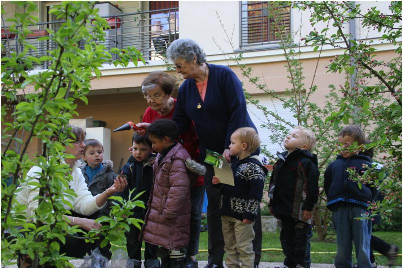 F d ration hospitali re de france le bonheur est dans le jardin - Jardin potager bio saint denis ...
