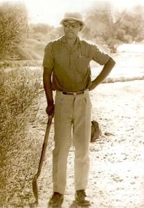"""Photo publiée dans """"A Prisoner in the Garden"""", extract de l'autobiographie """"Long Walk to Freedom"""""""
