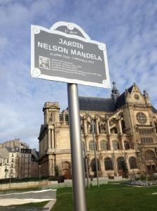 Le jardin des Halles nouvellement réouvert portera le nom de Nelson Mandela.