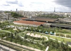 Parc Clichy-Batignolles Martin Luther King