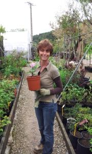 Carole Nahon pendant son stage de formation professionnelle.