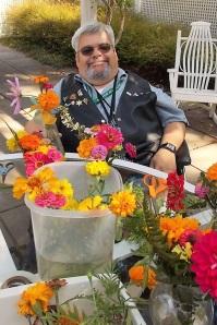 Greg et les fleurs de l'été