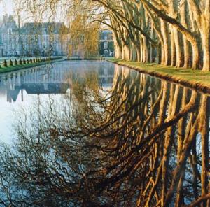 Le parc et le château de Courances