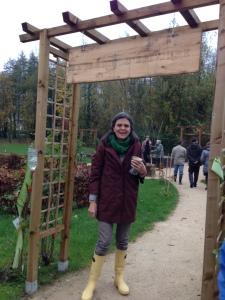 Anne Ribes au Jardin d'Epi Cure à la Maison des Aulnes (Maule)