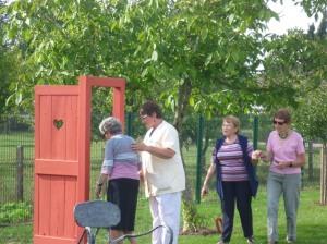 Le Jardin des Portes Vertes de Chailles (photo Béatrice Saurel)