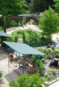 Le jardin pour grands brûlés de Teresia Hazen à Portland aux Etats-Unis.