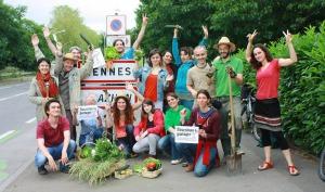 Les Incroyables Comestibles à Rennes