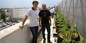 Alexandre Belin et Cédric Jules de Macadam Gardens, Thomas Laurent est l'autre fondateur  (D.T. /Metronews)