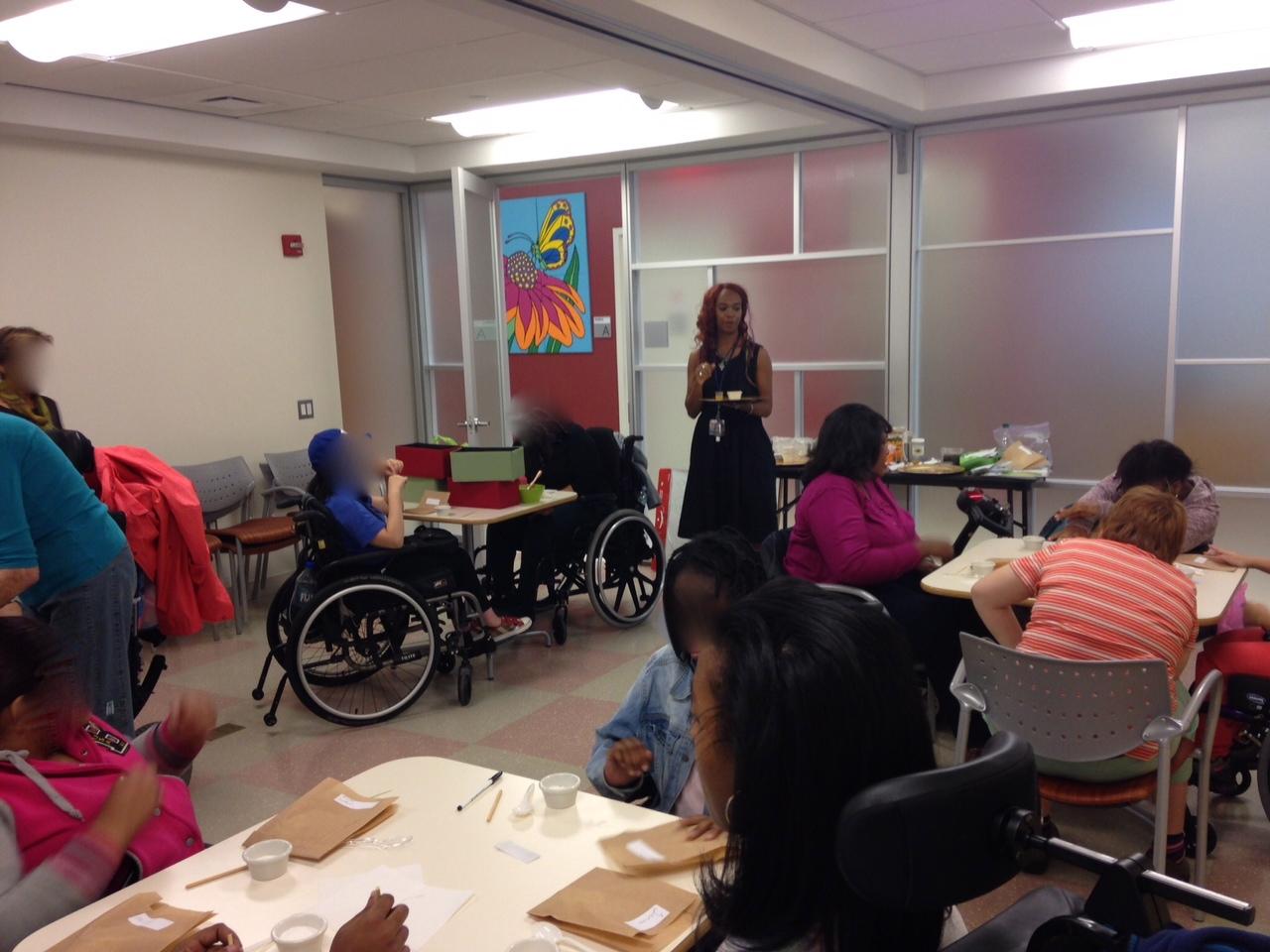 Recherche femmes handicapees