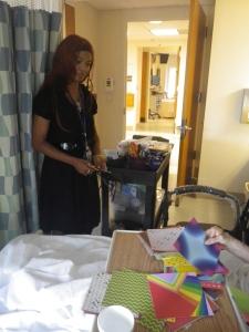 Amener l'activité au plus près des patients parfois immobilisés