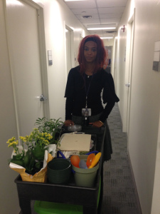 Tamara Singh  à l'hôpital NYU Langone Tisch.