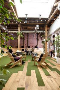 Les bureaux de GitHub, un éditeur de logiciels, à San Francisco.