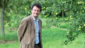 Marco Martella, fondateur de la revue Jardins aux éditions du Sandre (copyright Sébastien Soriano, Le Figaro)