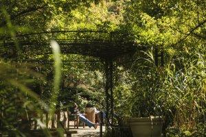 Un des cinq jardins au Legacy Emanuel Medical Center à Portland (Oregon).