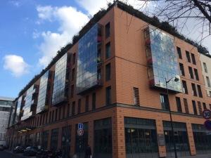 Le Centre Robert Doisneau dans un quartier en pleine rénovation du 18e arrondissement de Paris