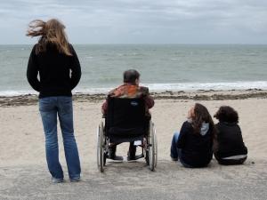 Sortie au bord de la mer à Quimiac (Loire-Atlantique)