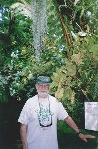 Oliver Sacks au New York Botanical Gardens (photo Roberto Calasso)