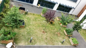 Le jardin au Foyer d'Accueil Médicalisé d'Herblay