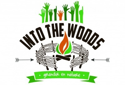 Logo into the woods