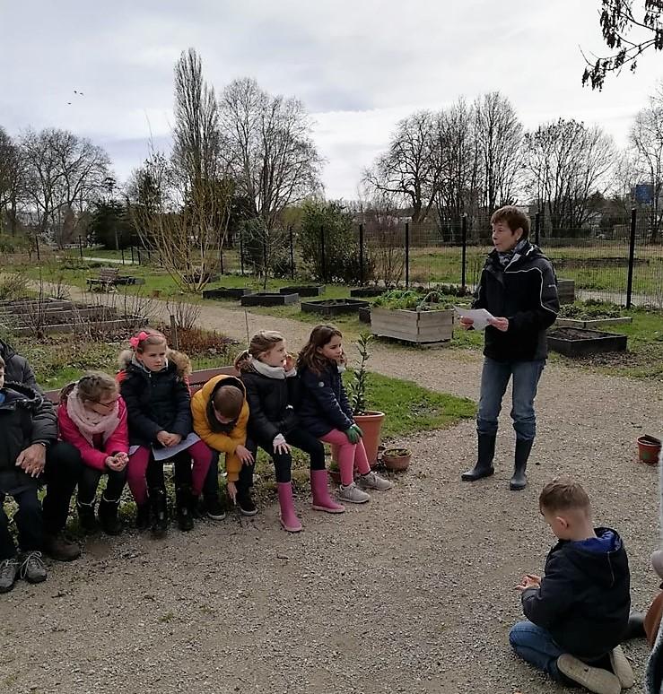 Patricia au Jardin Coup de Pousse